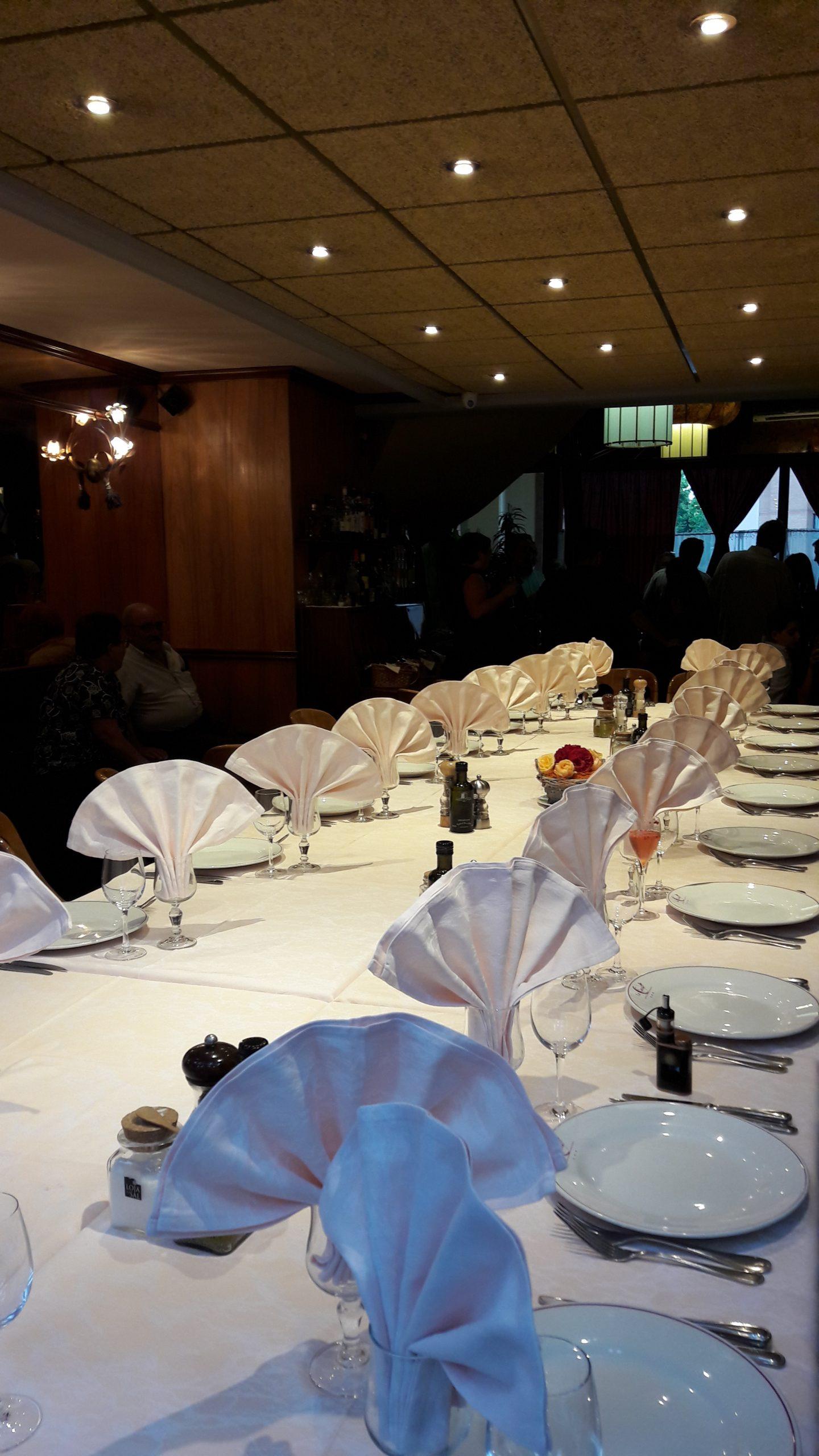 dîner d'affaires restaurant le canal evry