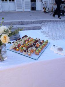 bouchées dessert restaurant le canal-traiteur mister T