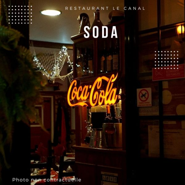carte-boisson-soda-restaurant le canal