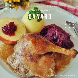 plat a emporter canard Restaurant Le Canal à Évry-Courcouronnes