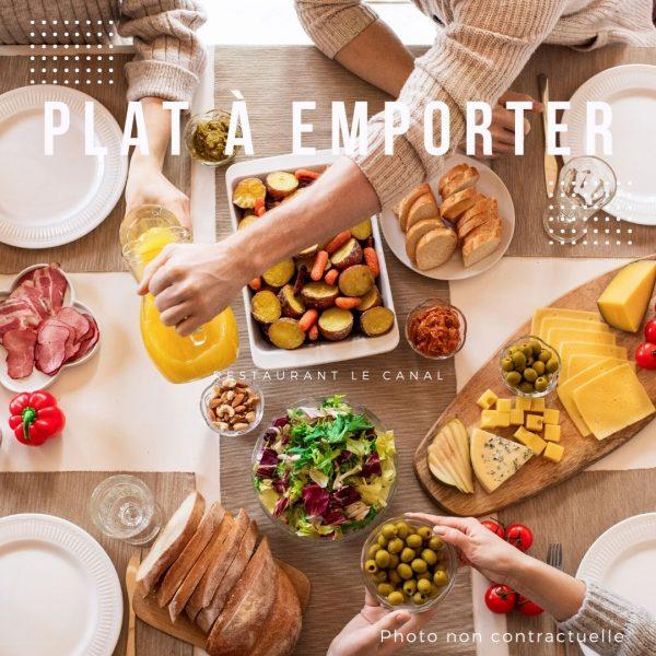 plat-a-emporter-plateau-repas Restaurant Canal Évry-Courcouronnes