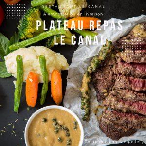 presentation du plateau repas restaurant-le-canal