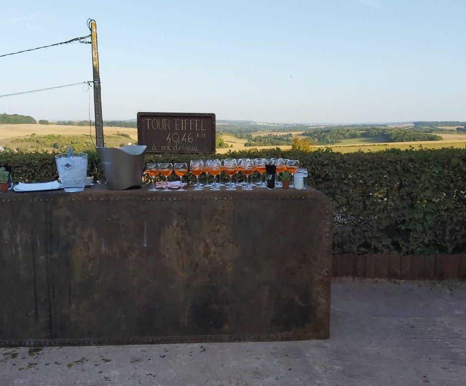 cocktail-extérieur-restaurant le canal-traiteur mister T