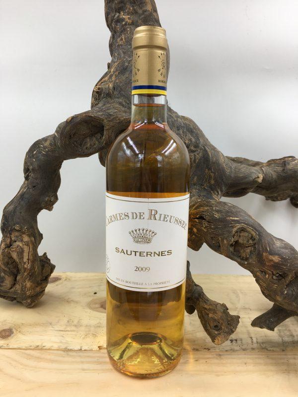 Sauterne Carmes Rieussec vin blanc - le canal restaurant et traiteur