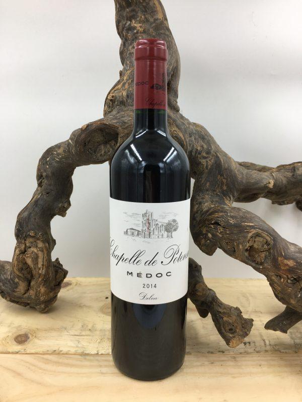 Chapelle de Potensac vin rouge - le canal restaurant et traiteur